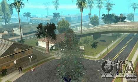 Christmas tree for GTA San Andreas