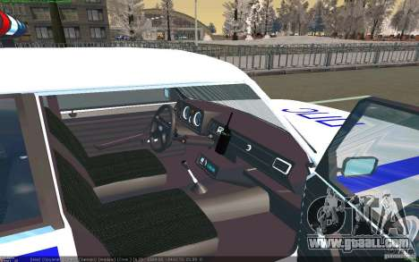 Vaz 2105 PPP Zhiguli for GTA San Andreas right view
