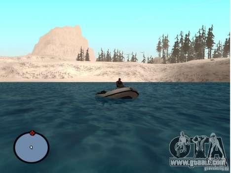Winter Mod for GTA San Andreas fifth screenshot