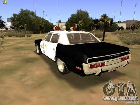 AMC Matador SA Police 1971 Final for GTA San Andreas left view