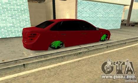 Lada Granta Dag Style for GTA San Andreas left view