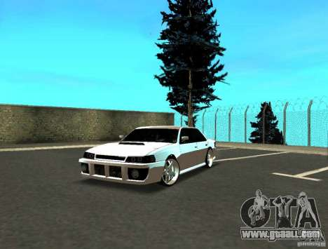 Azik Sultan for GTA San Andreas left view