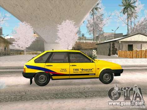 VAZ 21093i TMK Afterburner for GTA San Andreas back left view