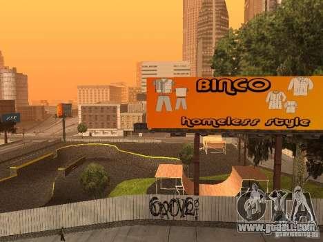 New SkatePark for GTA San Andreas fifth screenshot