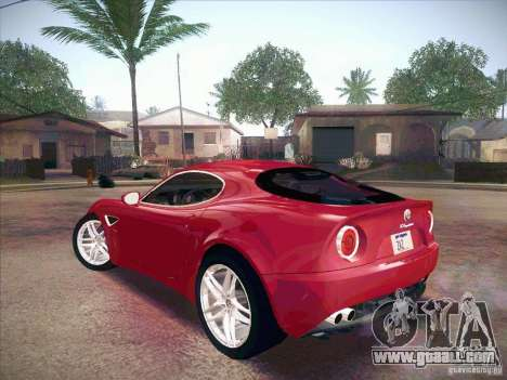 Alfa Romeo 8C Competizione v.2.0 for GTA San Andreas left view