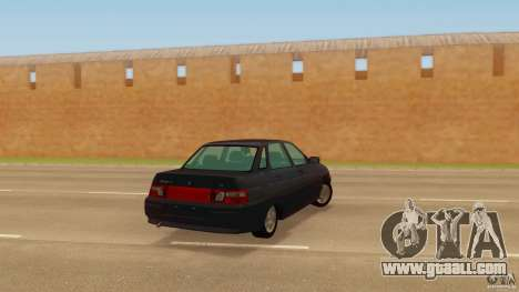 VAZ 2110 for GTA San Andreas left view