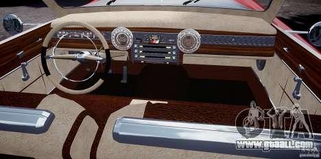 Buick Custom Copperhead 1950 for GTA 4 back view