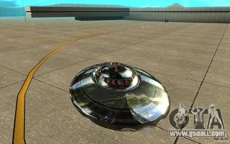 Real UFO for GTA San Andreas right view