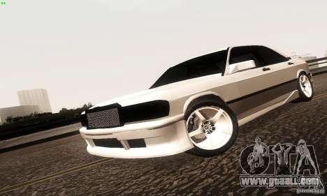Mercedes-Benz 190E V2.0 for GTA San Andreas