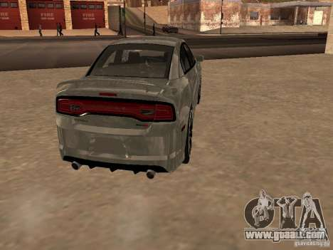 Dodge Charger SRT8 2011 V1.0 for GTA San Andreas right view