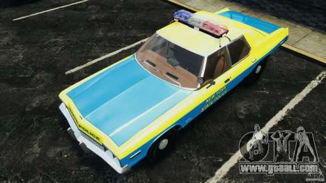 Dodge Monaco 1974 Police v1.0 [ELS] for GTA 4 engine