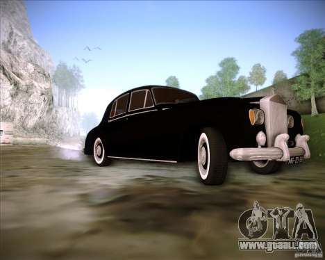 Rolls Royce Silver Cloud III for GTA San Andreas inner view