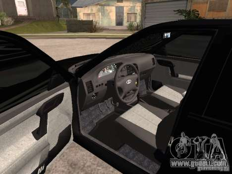 VAZ-2112 for GTA San Andreas back left view