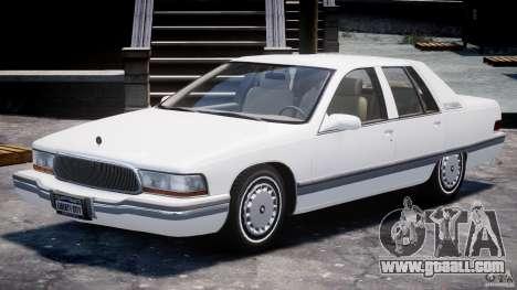 Buick Roadmaster Sedan 1996 v1.0 for GTA 4 left view
