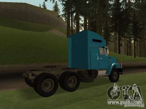 ZIL 133 for GTA San Andreas side view