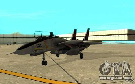 F-14A Screaming Eagles VF-51 for GTA San Andreas left view