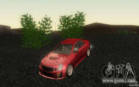 Cadillac CTS-V for GTA San Andreas side view