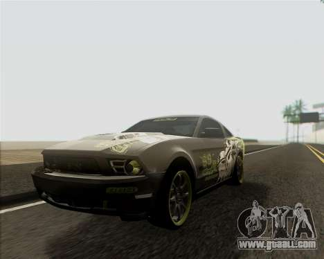 Ford Mustang Boss 302 for GTA San Andreas