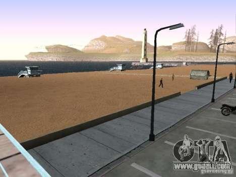 New Beach texture v1.0 for GTA San Andreas forth screenshot