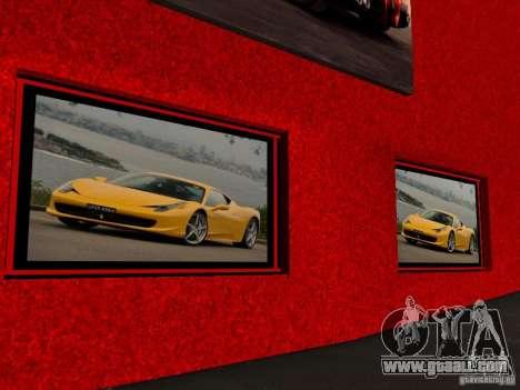 New Ferrari Showroom in San Fierro for GTA San Andreas forth screenshot