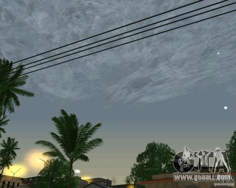 New clouds for GTA San Andreas third screenshot