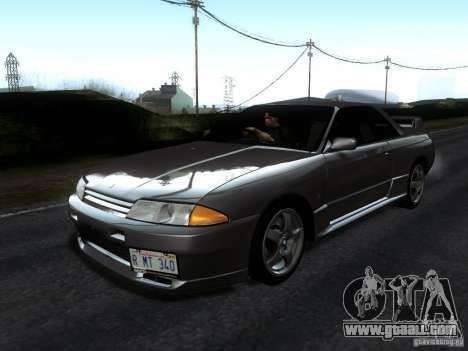 Nissan Skyline GT-R R32 1993 Tunable for GTA San Andreas back left view
