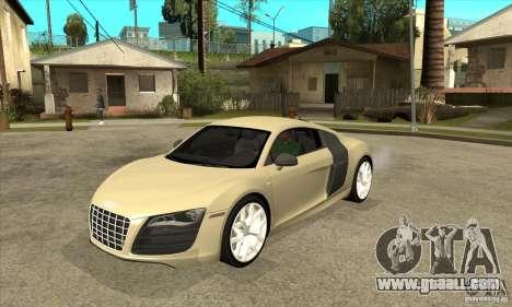 Audi R8 V10 5.2 FSI Quattro for GTA San Andreas