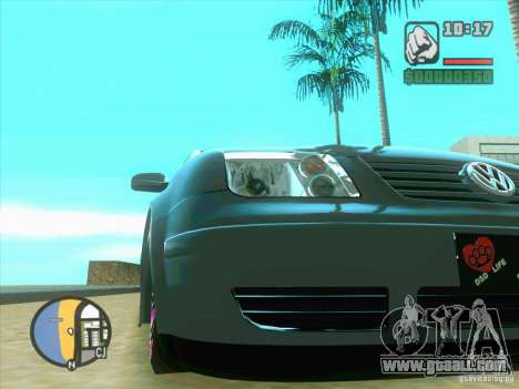 VW Bora Tuned for GTA San Andreas left view