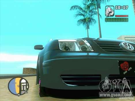 VW Bora Tuned for GTA San Andreas left view