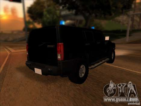 Hummer H3 for GTA San Andreas right view