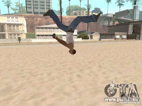 Parkour 40 mod for GTA San Andreas fifth screenshot