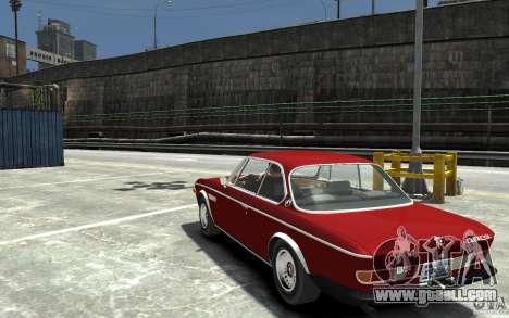 BMW 3.0 CSL E9 1971 for GTA 4 back left view