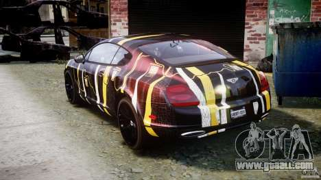 Bentley Continental SS 2010 Gumball 3000 [EPM] for GTA 4 back left view