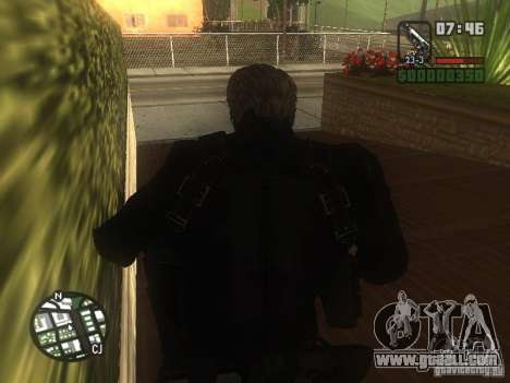Wesker from RE5 for GTA San Andreas second screenshot