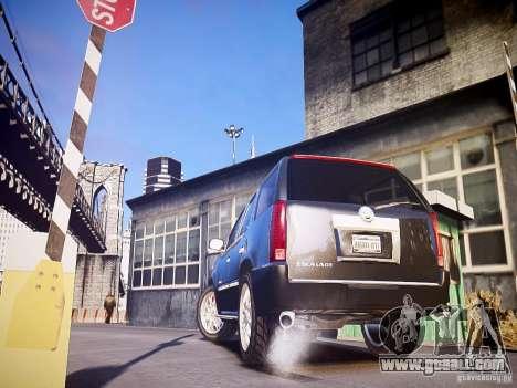Cadillac Escalade for GTA 4 back left view
