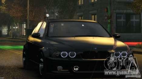BMW M5 E39 AC Schnitzer Type II v1.0 for GTA 4 interior
