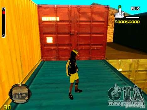Skin bum v3 for GTA San Andreas fifth screenshot