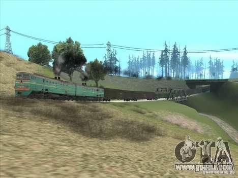 2te10v-3390 for GTA San Andreas back view