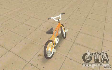 K2B Ghetto BMX for GTA San Andreas back left view