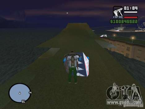 Night moto track V.2 for GTA San Andreas forth screenshot
