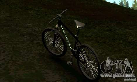 Bike with Monster Energy for GTA San Andreas left view