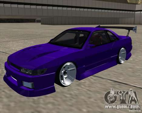 Nissan Silvia S13 Nismo tuned for GTA San Andreas