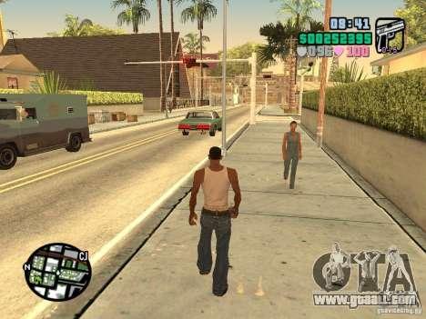 Vice City Hud for GTA San Andreas forth screenshot