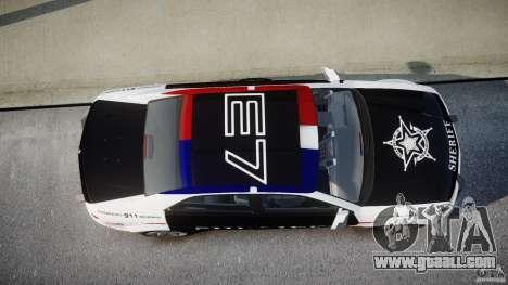 Carbon Motors E7 Concept Interceptor Sherif ELS for GTA 4 bottom view