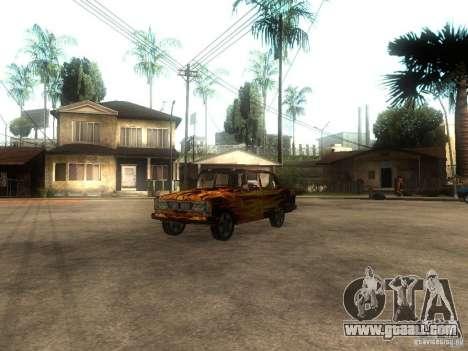 VAZ 2106 of the game S.T.A.L.K.E.R. for GTA San Andreas