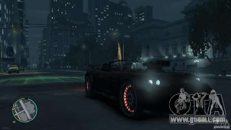 Red Neon  Banshee for GTA 4