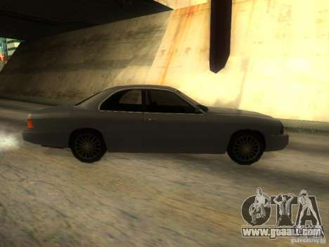 Merit Coupe for GTA San Andreas left view