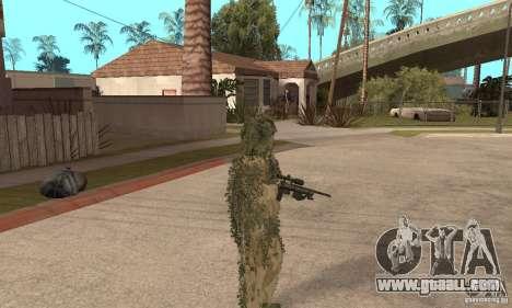 Skin sniper for GTA San Andreas forth screenshot
