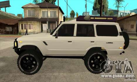 Toyota Land Cruiser 70 1993 Off Road Samurai for GTA San Andreas left view
