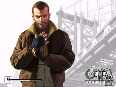 Boot screen GTA 4 for GTA San Andreas seventh screenshot